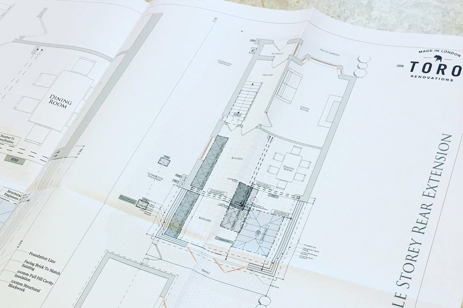 Building Plans by Toro Renovations Ltd